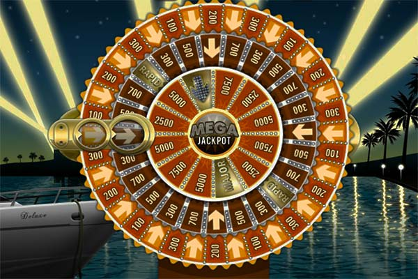 megafortune jackpot wheel